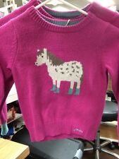 Joules Junior Winelle Horse Sweater
