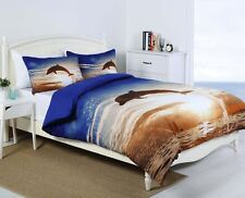 Dolphin Sunset Duvet | Doona Quilt Cover Set | Georges Fine Linen | Queen | King