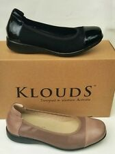 Klouds shoes - Orthotic friendly comfort leather Walnut