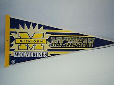 Vintage Michigan Wolverines College Football Pennant
