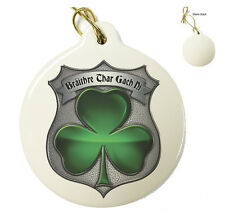 Garda Irish Policeman's Brotherhood - Christmas Xmas Tree Porcelain Ornaments