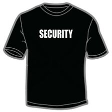 Official Looking Security t-shirt Ringspun Cotton Soft Feel High Quality