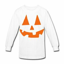 Halloween Pumpkin Face Kids' Long Sleeve Shirt