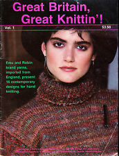 VINTAGE KNITTING MAGAZINE GREAT BRITTAN GREAT KNTTING VOL 1 VG++