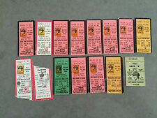 Pittsburgh Pirates 1975 Ticket Stubs YOU PICK ONE GAME Parker Randolph Stargell