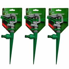 ADJUSTABLE LAWN IMPULSE SPRINKLER HOSE SPIKE WATER GARDEN SPRAY IRRIGATION