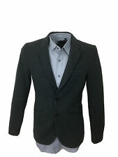 Mens Antony Morato Herringbone Super Slim Fit Grey Blazer Jacket in Size Medium