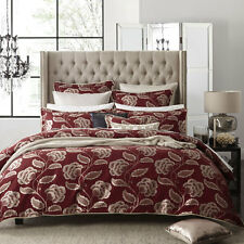 Private Collection PADDINGTON RED Doona Quilt Cover Set Queen King Super King