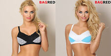 KATIE Mastectomy Post Surgery Bra Cup B-E Pocketed Non-wired