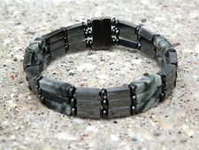 Men's Picasso Jasper Magnetic Hematite Bracelet Anklet THERAPY 2-3 row Free Ship
