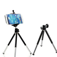 360° Rotatable Cell Phone Stand Mount Tripod + Holder for iPhone Samsung Galaxy