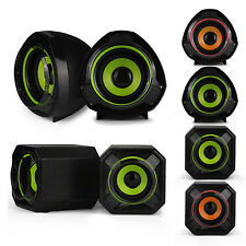 Universal Portable USB Powered Computer Speakers for Desktop Laptop Notebook PC