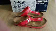 BIRKENSTOCK - GIZEH RED WITH RED SOLES - KIDS- RRP $100 SAVE $25