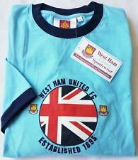 Official West Ham Hammers T-Shirt Crew Neck Short Sleeve Sale Was £15 Now £9.99