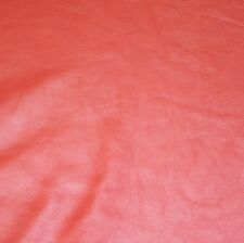 Cow Leather, Cow Hide, Upholstery Leather, Prime Quality - 50 Sq Ft - Red Color
