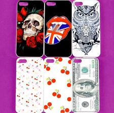 Wholesale Lot Hard Plastic Back Skin Case Cover Back Shell for Apple iPhone 5 5S