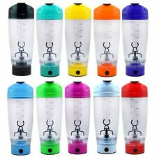 Portable Protein Shaker Tornado Cocktail Mixer HandHeld Battery Bottle Cup 550ML