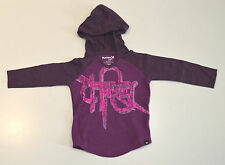 Hurley Girls Hoodie - PURPLE - SIZE 18 MONTHS - NEW