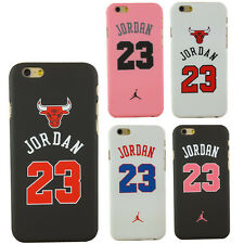 AJ Air Michael Jordan 23 Chicago Bulls Hard Case for iphone SE 5 5S 6 6 Plus
