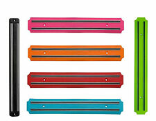 Magnetic Wall Mounted Kitchen  Knife Holder Wooden Storage Rack  33cm 6 colours