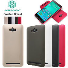 Real Nillkin Matte Shield Hard Back Case Cover+Screen Protector For Asus Zenfone