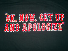 HELLS ANGELS SUPPORT T-SHIRT APOLOGIZE