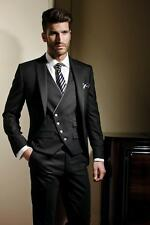 2015 Groom Tuxedos,Handsome Formal Wear Wedding Party Groomsman Suit Men's Suit