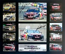 LOWNDES & WHINCUP V8 RACING SUPREMACY OFFICIAL SIGNED L/E PRINT ONLY OR FRAMED