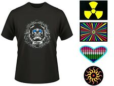 LED T-Shirt Equalizer Shirt Leucht T-Shirt T-Equalizer Blink Shirt