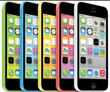"Apple iPhone 5C- 8GB 16GB 32GB GSM ""Factory Unlocked"" Smartphone Phone All Color"