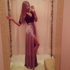 New Style Women Long Lace Dress Formal Ball Cocktail Prom Evening Party Dress
