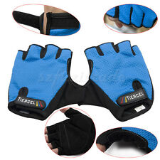 Outdoor Sports Half Finger Gloves Bike Bicycle Sweat Absorb Cycling Enthusiasts