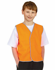 AIW SW02K; Childs High Visibility Safety Vest 100% Polyester