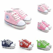 0-18M Child Kids Boy Soft Sole Sneaker Lace Up Casual Crib Shoes Prewalkers O35