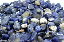 Sodalite Grade B 15mm QTY3 Tumbled Stone Healing Crystal Learning Communication
