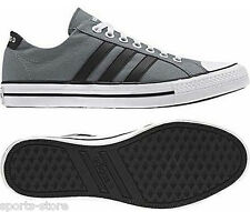Adidas Vlneo 3 Stripes Low Mens Trainers TechGrey/White/Black