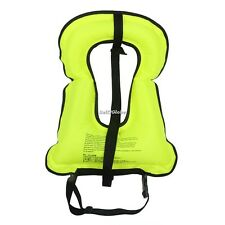 Mens Snorkeling Gear Swimwear Inflatable Adult Life Jackets Vest Swimwear G8