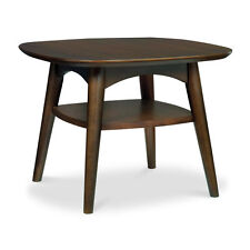 Life Interiors Side/End Tables NEW Stockholm Lamp Table Shelfin Dark Wood