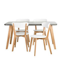 Estudio Furniture Dining Sets NEW Oslo 5 pce Dining Setin White