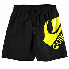 Kids Quiksilver Plain Swim Shorts Junior Boys New