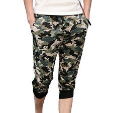 Summer Men large casual shorts Cropped Trousers Beach pants Fashionable QT
