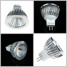 New GU10 MR16 LED Bulbs SMD COB Lamp Spot Spotlight Cool Warm White Light cm