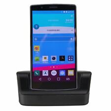 Dual Sync Battery Charger Cradle Dock Station Stand + OTG + USB Cable For LG G4
