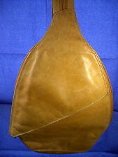 CHAOS Leather Collection Tan Backpack Shoulder Bag Purse
