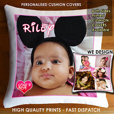 Personalised Photo Cushion  Cover Collage,Both Side Printed High Quality Prints