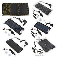 Multi-Purpose Portable Solar Panel Battery Charger for Car/RV Car Battery SL