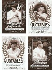 2016 Leaf Babe Ruth Collection Cards - Take Your Pick(2)-$1.00 each