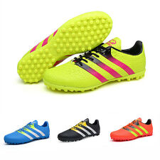 MEN'S KID YOUTH CHEAP LACE UP INDOOR SOCCER SHOES CLEATS FOOTBALL SPORTS SHOES