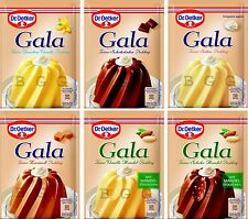 Dr.Oetker - GALA - Original German Premium Pudding - Pick your flavor - German