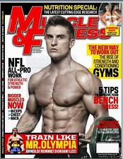 Muscle and Fitness Magazines 2012 Collection UK editions